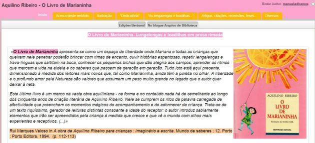 livebinderMarianinha
